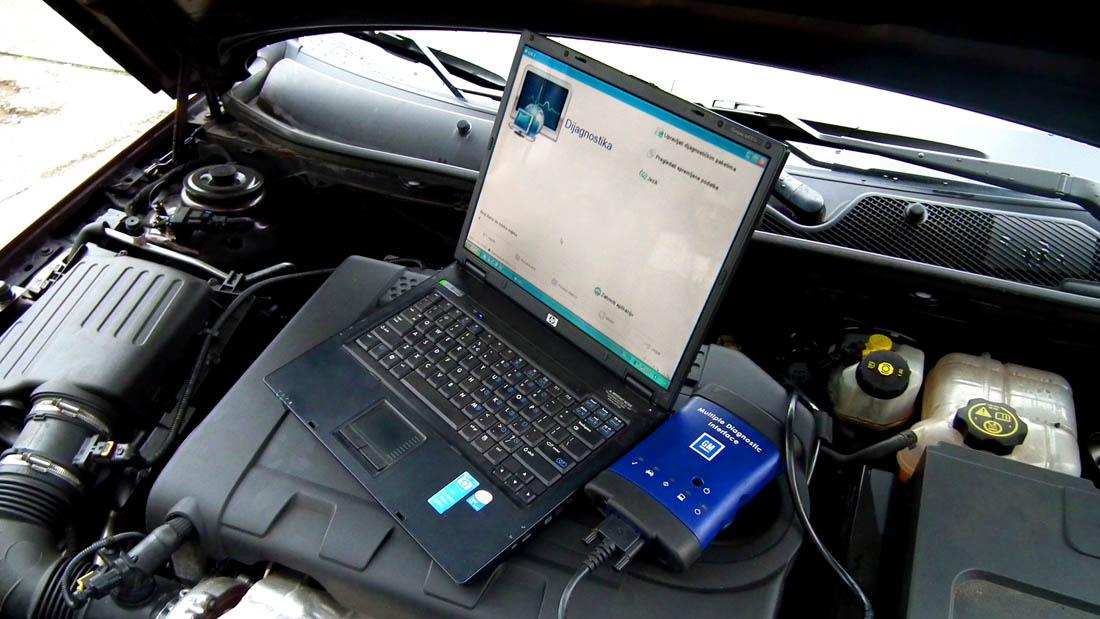 Servis Calibra Simanovci auto dijagnostika Opel vozila