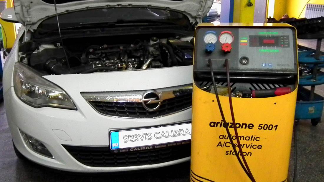 Servis Calibra Simanovci punjenje auto klime
